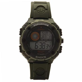 Timex Men's Expedition T49981DH Green/Camo/Black Digital Sport Watch  UPC:753048602681