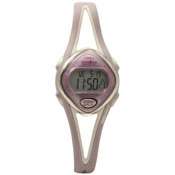 Timex Women's Ironman T5K027E4 Pink/Grey Digital Sport Watch  UPC:753048299812