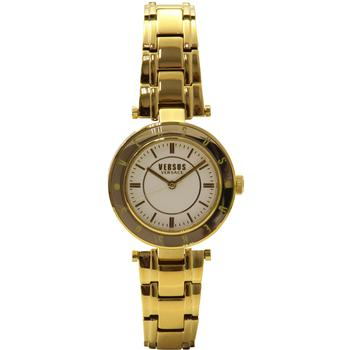 Versus By Versace Women's SP8200015 Yellow Gold/White Analog Watch  UPC: