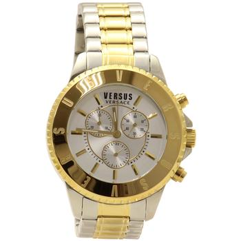 Versus By Versace Men's Tokyo SGN120015 Chrono Two Tone Gold/Silver Analog Watch  UPC:
