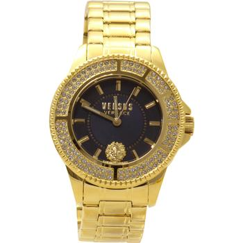 Versus By Versace Women's Tokyo SGM270015 Yellow Gold/Blue Analog Watch
