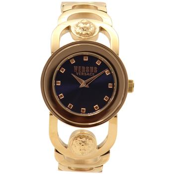 Versus By Versace Carnaby Street SCG090016 Yellow Gold-Plated Analog Watch  UPC: