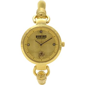 Versus By Versace Women's Roslyn S63030016 Yellow Gold-Plated Analog Watch