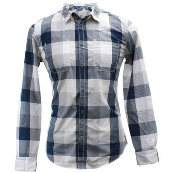 Calvin Klein Men's Buffalo Check Cotton Long Sleeve Button Up Shirt  UPC: