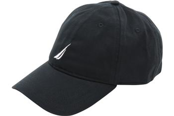 Nautica Anchor J-Class Adjustable Cotton Cap Baseball Hat (One Size Fits Most)  UPC: