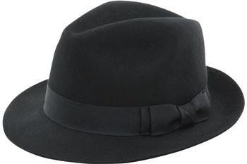 Scala Classico Men's Wool Pinch Front Fedora Hat  UPC:
