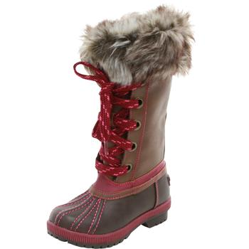 London Fog Little/Big Girl's Melton Water Resistant Snow Boots Shoes  UPC: