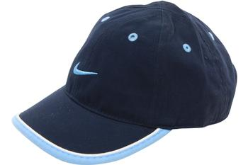 Nike Boy's Embroidered Logo Cotton Baseball Cap Hat