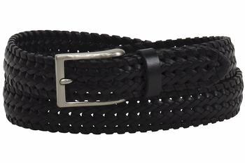 Trafalgar Men's Owen Genuine Full Grain Braided Leather Belt  UPC:
