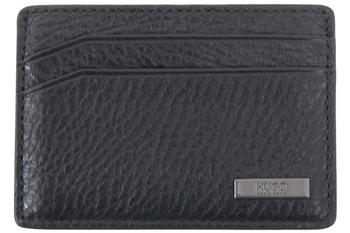 Hugo Boss Men's Element 3-CC Pebbled Genuine Leather Card Wallet  UPC: