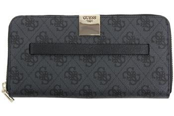 Guess Women's Christy Large Zip-Around Clutch Wallet  UPC: