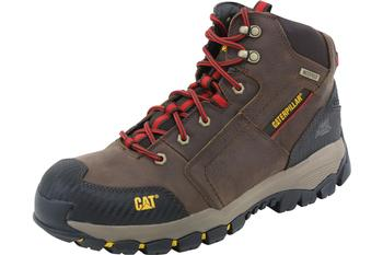 Caterpillar Men's Navigator Mid WP Waterproof Work Boots Shoes  UPC:
