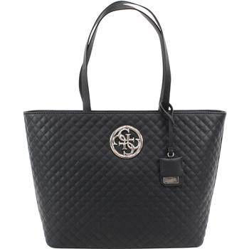Guess Women's G Lux Large Quilted Tote Handbag  UPC:
