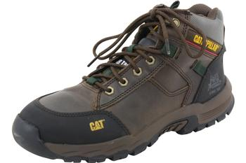 Caterpillar Men's Safeway Mid ST Steel Toe Slip Resistant Work Boots Shoes  UPC: