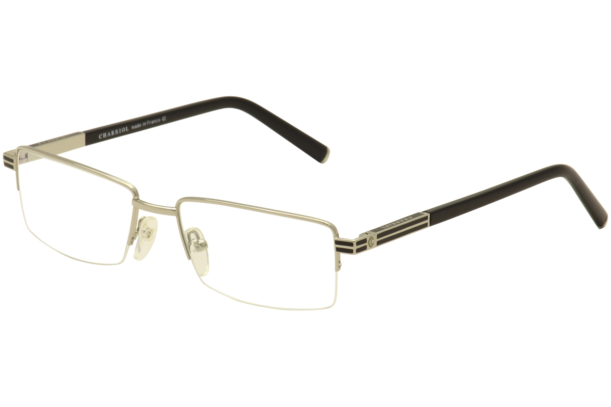 Charriol Men's Eyeglasses PC7506 PC/7506 Half Rim Optical Frame  UPC: