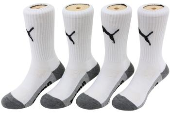 Puma Little Kid/Big Boy's 4-Pairs Moisture Control Crew Sport Socks  UPC: