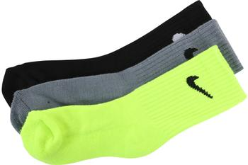 Nike Little Boy's 3-Pair Swoosh Logo Athletic Crew Socks