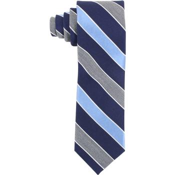 Tommy Hilfiger Men's Contrasting Heather Stripe Print Tie  UPC: