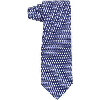 Tommy Hilfiger Men's 100% Silk Squirrel Print Tie  UPC: