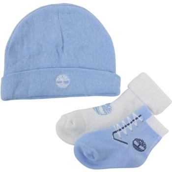 Timberland Infant Boy's 3-Piece Booties & Beanie Hat Gift Set