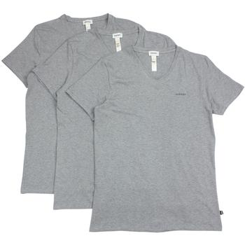 Diesel Men's The Essential Michael 3-Pack V-Neck Short Sleeve T-Shirt  UPC: