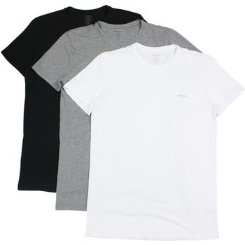 Diesel Men's The Essential Jake 3-Pack Crew Neck Short Sleeve T-Shirt  UPC: