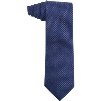 Calvin Klein Men's Silk Steel Etched Micro Check Tie  UPC: