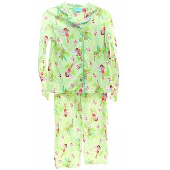 Disney Fairies Tinkerbell Girl's Pajama Sleepwear 2-Piece set