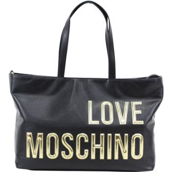 Love Moschino Women's Raised Letter Logo Pebbled Tote Handbag  UPC: