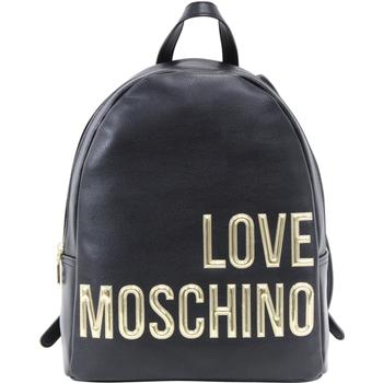 Love Moschino Women's Raised Letter Logo Pebbled Leather Backpack  UPC: