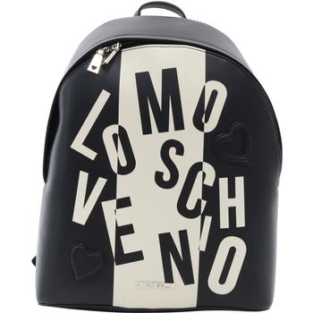 Love Moschino Women's Toggle Letter Logo Leather Backpack