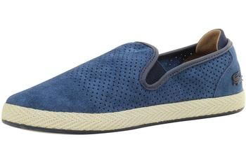 Lacoste Men's Tombre 117 Perforated Suede Espadrilles Loafers Shoes  UPC: