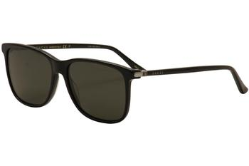 Gucci Men's GG0017S GG/0017/S Polarized Fashion Sunglasses
