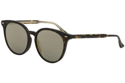 Gucci Women's Opulent Luxury GG0195SK GG/0195/SK Fashion Round Sunglasses