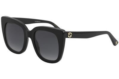 Gucci Women's GG0163S GG/0163/S Fashion Square Sunglasses