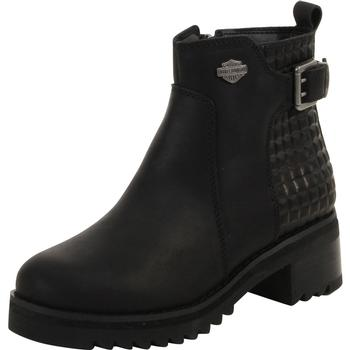 Harley Davidson Women's Kelso Textured Ankle Boots Shoes  UPC: