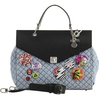Guess Women's Rochelle Quilted Top Handle Flap Handbag