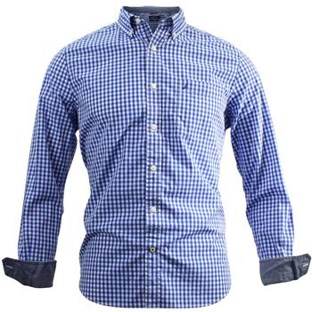 Nautica Men's Classic Fit Gingham Long Sleeve Button Down Shirt  UPC: