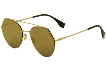 Fendi Women's FF0194S FF/0194/S Aviator Fashion Sunglasses  UPC: