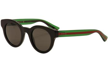 Gucci Women's GG0002S GG/0002/S Fashion Sunglasses  UPC: