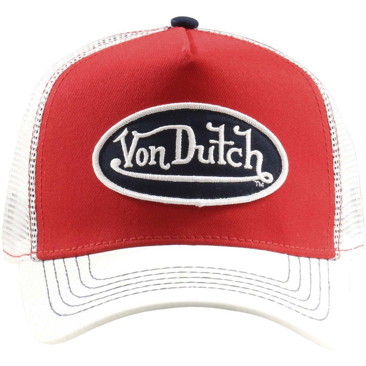 d62bc53c439dc Von Dutch Men s Trucker Mesh Snapback Cap Hat by Von Dutch