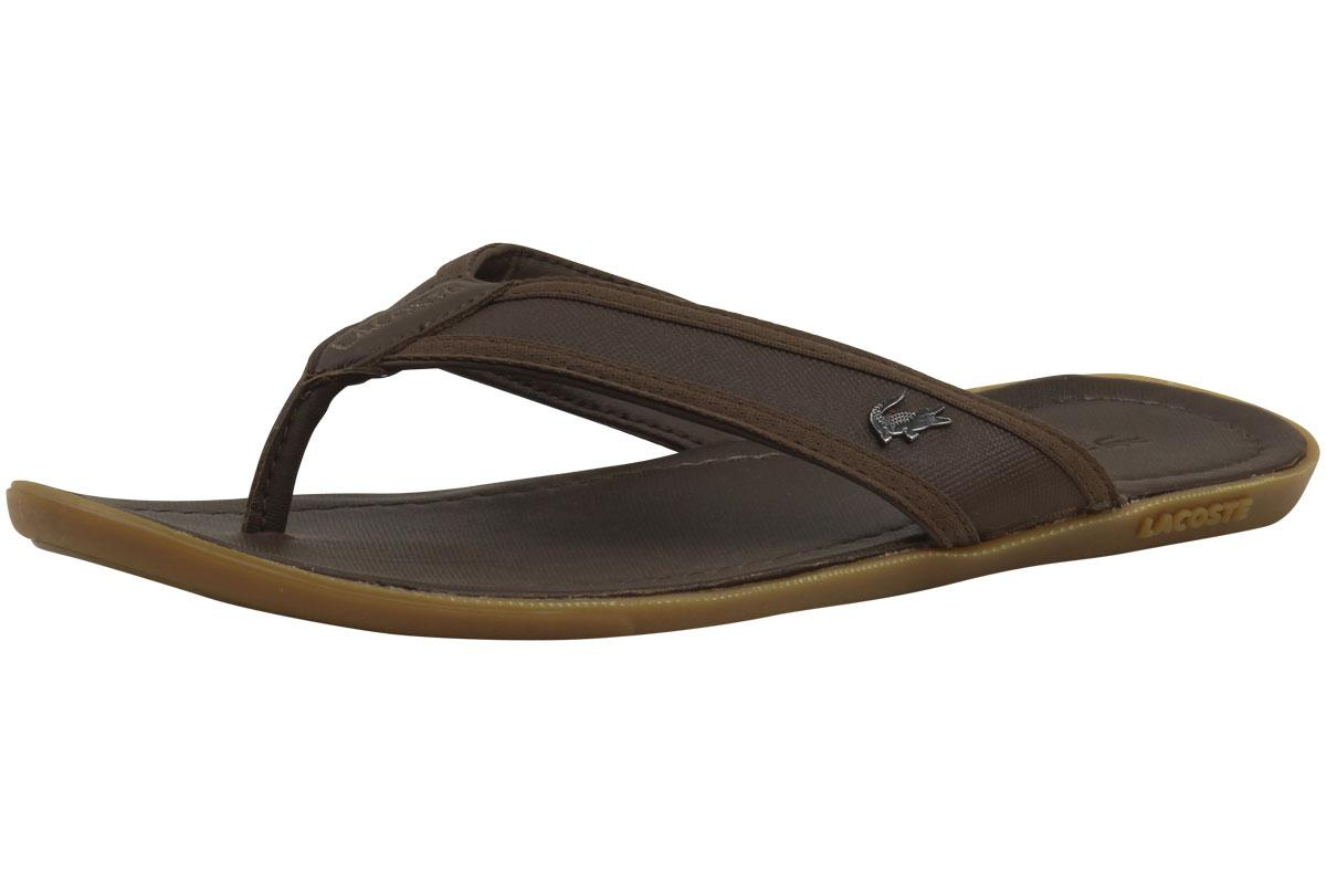 66454550d777 Lacoste Men s Carros 6 Flip-Flops by Lacoste