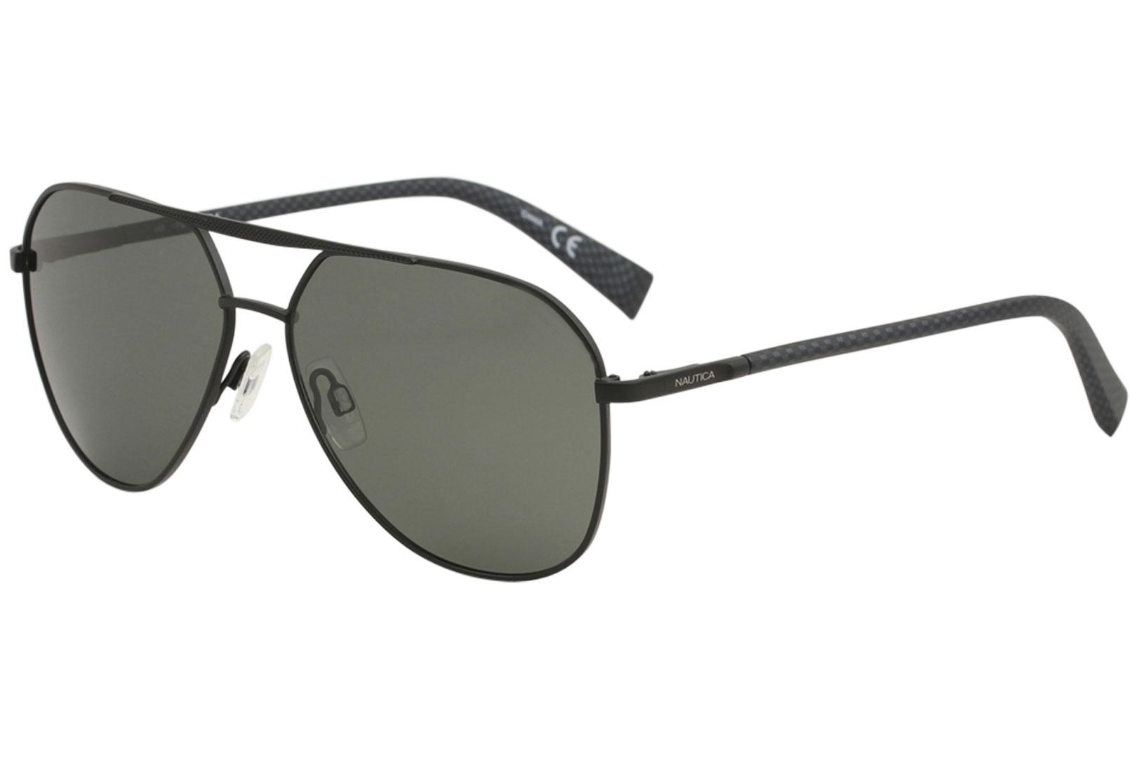 d0098ac98a Nautica Men s N5121S N 5121 S Fashion Pilot Polarized Sunglasses