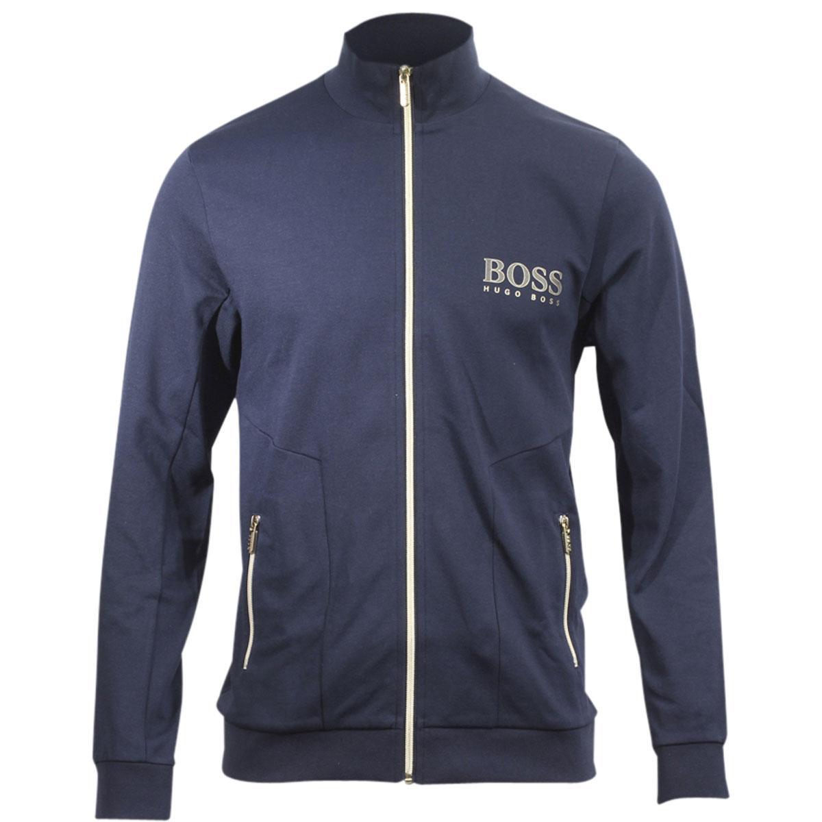 4837c9af Hugo Boss Men's Stretch Jersey Long Sleeve Tracksuit Jacket by Hugo Boss