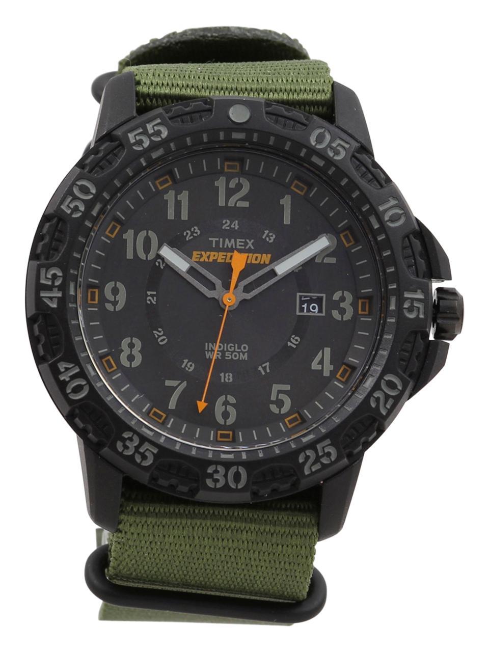 Timex Men s TW4B03600 Expedition Black Analog Watch