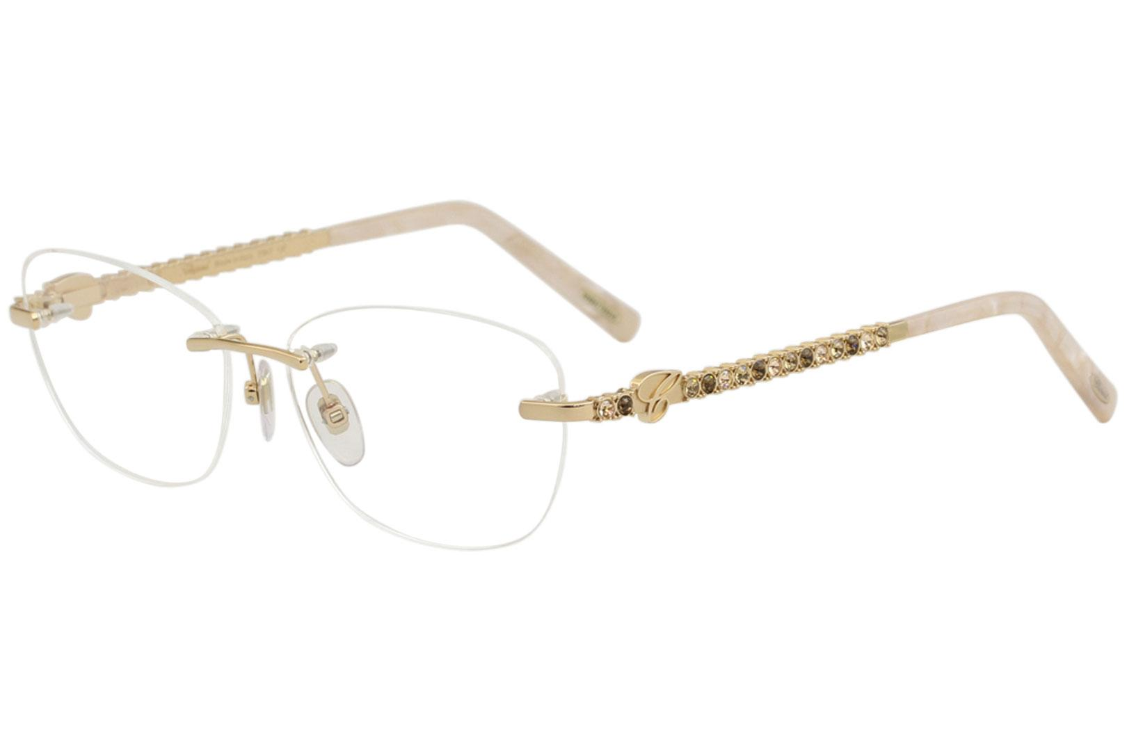 7983807eecdb Chopard Women's Eyeglasses VCHB51S VCHB/51/S Rimless Optical Frame by  Chopard