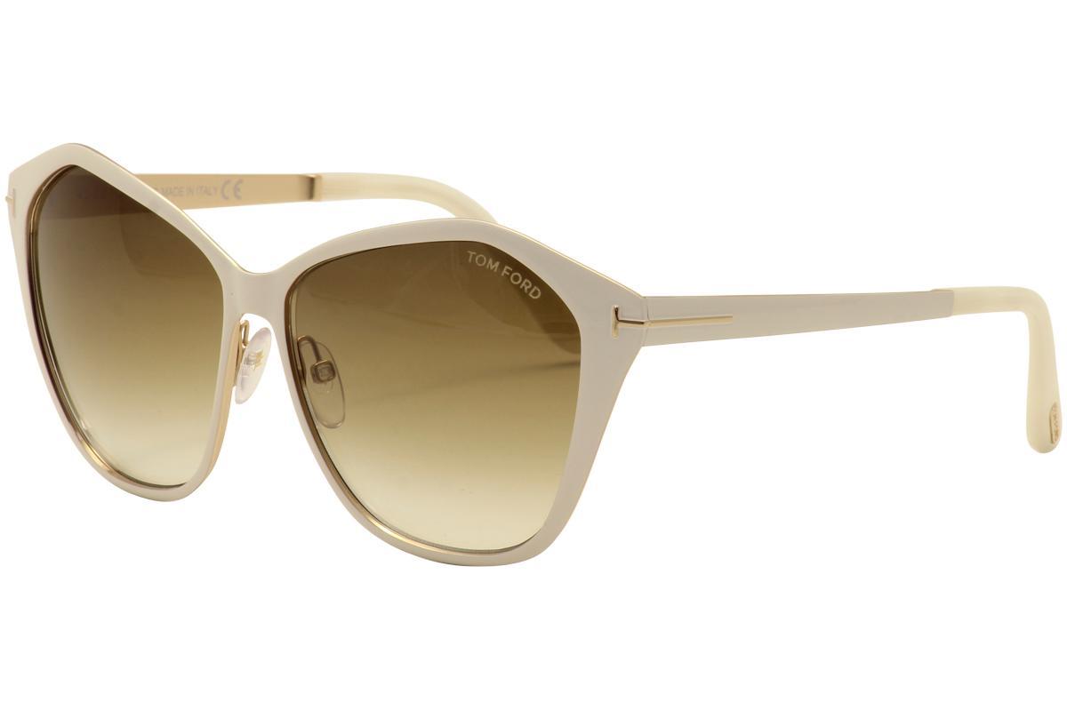 ee4e7758543 Tom Ford Women s Lena TF391 TF 391 Fashion Sunglasses by Tom Ford