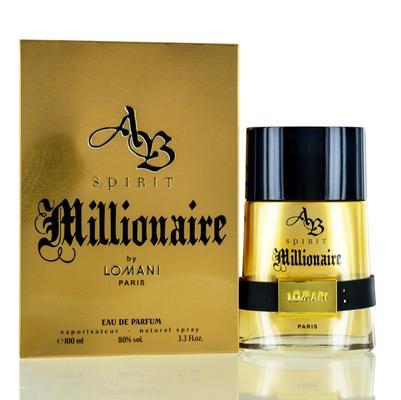 Image of AB SPIRIT MILLIONAIRE/LOMANI EDP SPRAY LIMITED EDITION 3.3 OZ (100 ML) (M)