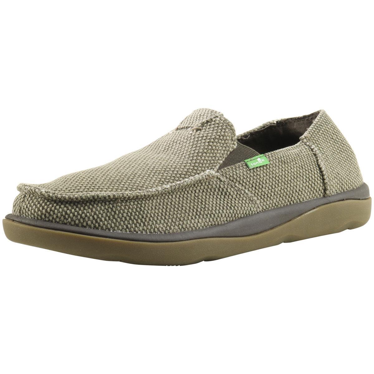 277f9acd1efe5 Sanuk Men's Vagabond Tripper Sidewalk Surfer Loafers Shoes by Sanuk