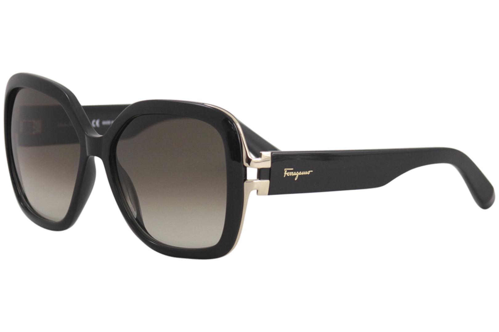 8dd7b834d0d Salvatore Ferragamo Women s SF781S SF 781 S Fashion Square Sunglasses by Salvatore  Ferragamo